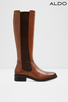 Aldo Chelsea Knee High Leather Boot