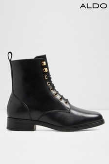Aldo Lace Up Flat Combat Boot