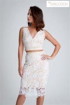 The Girlcode Lace Co-Ord Top