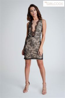 781895300 Women s Dresses The Girl Code Black Lace Thegirlcode