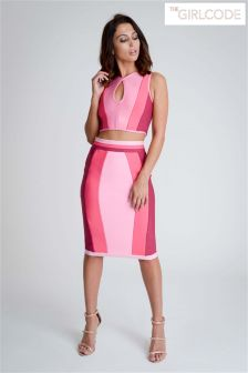 The Girl Code Bandage Co-ord Skirt