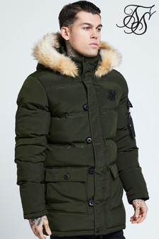 SikSilk Padded Puffer Jacket