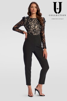 Forever Unique Lace Long Jumpsuit