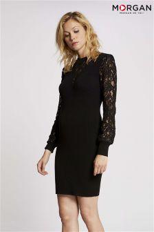 Morgan Lace Insert Bodycon Dress