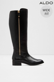 Aldo Wide Fit High Leg Boots