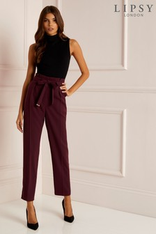 Lipsy Metal Trim Tapered Trouser