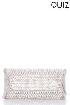 Quiz Small Envelope Clutch Bag