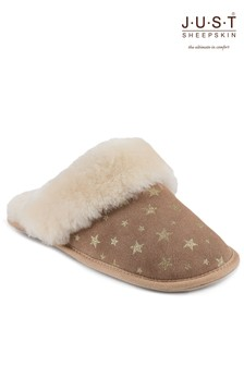 Just Sheepskin Star Duchess Slippers