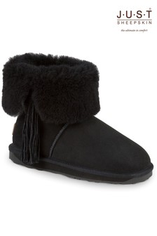 Just Sheepskin Tassel Side Boots