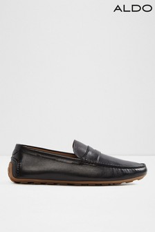 Aldo Leather Driver Loafers