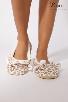 Boux Avenue Giraffe Slippers