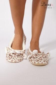 Boux Avenue Giraffe Slippers