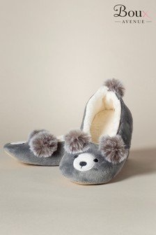 Boux Avenue Pom Bear Slippers