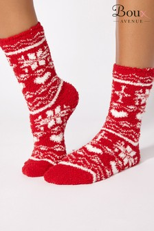 Boux Avenue Christmas Fair isle Socks