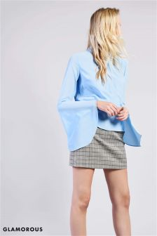 Glamorous Studio Collection High Waist Mini Skirt