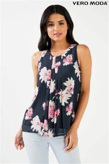 Vero Moda V-neckline Short Sleeved Top Women Orange Outlet Order Online Finishline Cheap Online Cool Shopping Cheap Sast I4BmDGNeJ