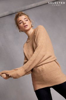 Selected Femme Crew Neck Knit Jumper