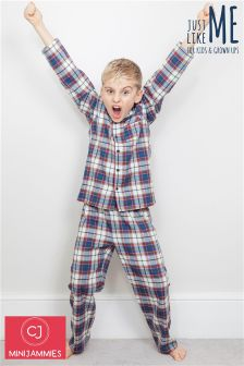 Minijammies Check PJ Set