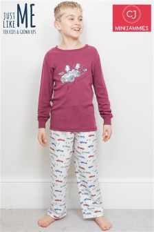 Minijammies Vintage Racing Car PJ Set