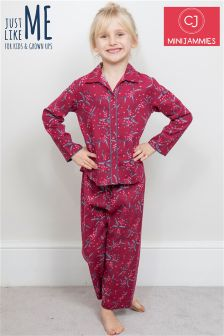 Minijammies Holly Berry Print PJ Set