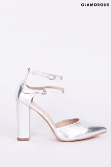 Glamorous Strap Detail Party Shoes