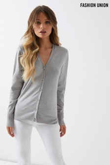 Fashion Union Embellished Cardigan
