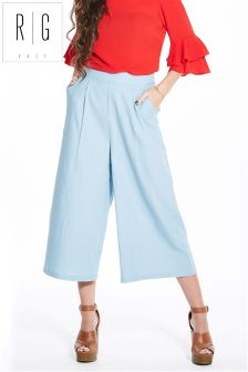 Rage Chambray Culotte Trousers