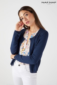 Naf Naf Button Cardigan