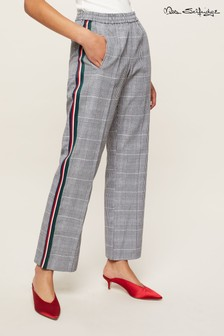 Miss Selfridge Check Jogger