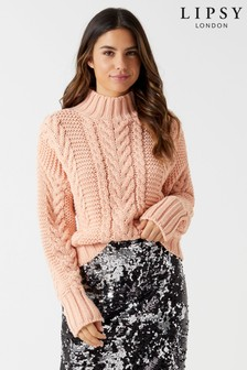 Lipsy Chunky Cable Jumper