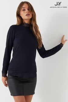JDY Long Sleeve Lace Top