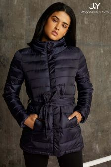 JDY Belted Padded Coat