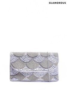 Glamorous Embellished Evening Clutch Bag