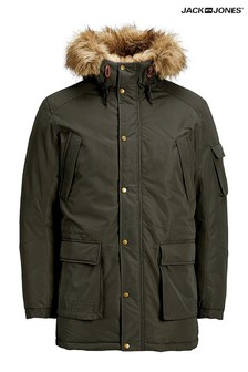 Jack & Jones Hooded Parka Coat