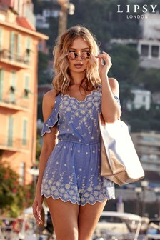 Lipsy Embellished Playsuit
