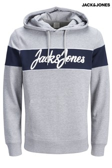 Jack & Jones Winksy Stripe Logo Sweat