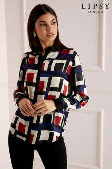 Lipsy Geometric Printed Shirt