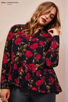 Only Carmakoma Curve Floral Blouse