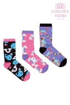 Chelsea Peers Unicorn rainbow Sock Set