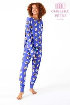 Chelsea Peers圣诞布丁图案睡衣礼物套装