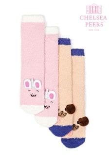 Chelsea Peers Christmas Fluffy Slipper Socks