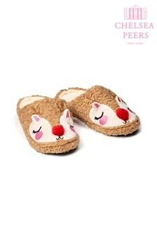 Chelsea Peers Reindeer Slippers