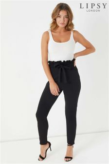 Lipsy Paperbag Skinny Trousers
