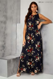 Mela London Printed Maxi Dress