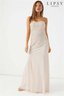 Lipsy Sequin Maxi Dress