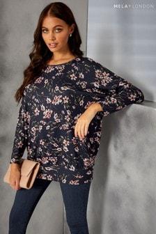 Mela London Floral Sweatshirt