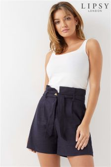 Lipsy Linen Blend Shorts