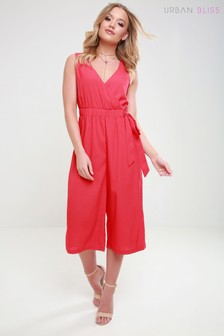 Urban Bliss Wrap Tie Side Jumpsuit