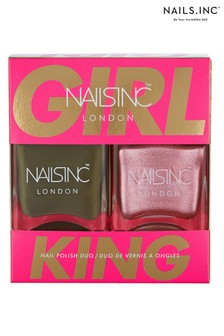 Nails Inc Girl King Duo