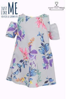 Want That Trend Mummy And Me Floral Skater Dress